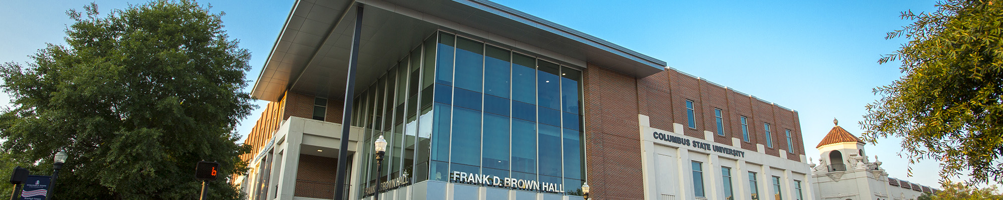 Photo of Frank Brown Hall